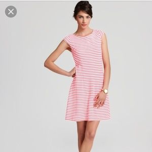 Lilly Pulitzer Briella Pink/White Striped Dress XL
